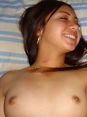 Naughty girl teasing her bf