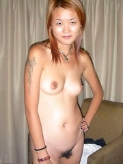 Sexy Asian chicks show off their tight bodies